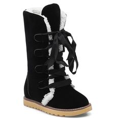 Tie Up Hidden Wedge Mid Calf Boots #>=#>=#>=#>=#> Click on the pin to check out discount price, color, size, shipping, etc. Save and like it!
