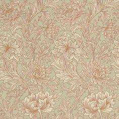 Morris Chrysanthemum Toile Wallpaper main image