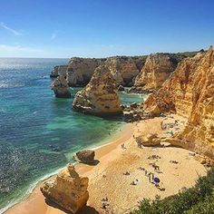 Is this real life? #beachbum #algarve #praiadamarinha . . . . . . . #restlessworker #travelblog #travelblogger #blogger #blog #canadianabroad #canadianblogger #passionpassport #dametraveler #beachlife #beach #algarve #algarveviews #portugal #lisbon #travellisbon #visitlisbon #visitportugal #travelportugal #praia #praia #benegil #beachlife #beachviews #coast #southcoast