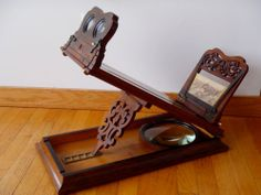 HUGE ANTIQUE ROSWELL TYPE STEREOGRAPHOSCOPE c1870 Stereograph Stereoscope