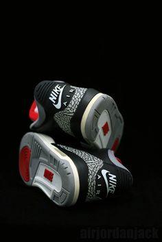 Black Cement Air Jordan 3