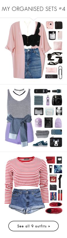 """""""MY ORGANISED SETS #4"""" by emmas-fashion-diary ❤ liked on Polyvore featuring Topshop, Dolce&Gabbana, Fragments, Stuart Weitzman, H&M, Mamonde, NARS Cosmetics, JAG Zoeppritz, Fujifilm and Acne Studios"""
