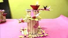 DIY Decoration Craft - Candle Decoration For Festival