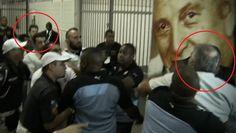 JORGE EDUARDO FONTES GARCIA - IN FOCUS: Dirigente do Botafogo tenta agredir técnico do Fig...