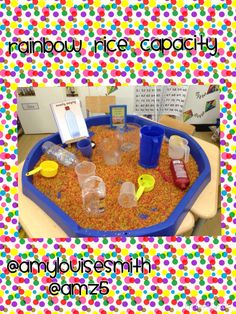 Rainbow rice capacity