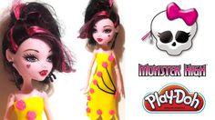 Play Doh Monster High Oyun Hamuru Kıyafet Tasarımı
