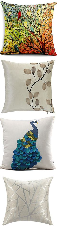 We have a huge choice of really beautiful pillows. You just can't resist it. Check it out!