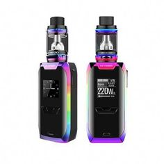 The Vaporesso Revenger X Starter Kit is a high powered and advanced starter kit which includes the Revenger TC Mod and the NRG Sub-Ohm Tank Best Vaporizer, Ice Cream Floats, Vape Juice, Good Grips, Revenge, Pure Products, Electronic Cigarettes, Vaping, Rainbow