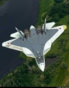Russian Air Force to receive first 5 PAK FA next year Airplane Fighter, Fighter Aircraft, Military Jets, Military Weapons, Air Fighter, Fighter Jets, Russian Military Aircraft, Sukhoi, Jet Engine