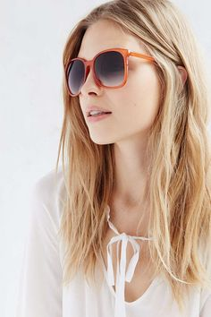 Diana Slim Square Sunglasses - Urban Outfitters
