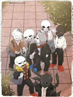 Bad sans XD. Undertale au