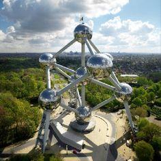 Atomium en Bruselas (Bélgica)