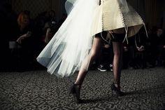 #ShoeCult (http://www.nastygal.com/by-nasty-gal-shoes) backstage At Zana Bayne F/W14 #nyfw