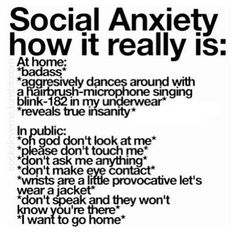 Anxiety #introvert