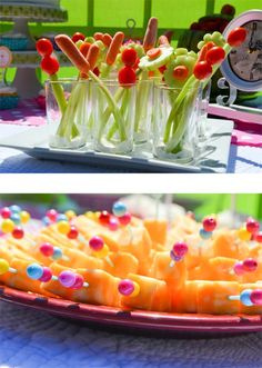 Bloody bar  http://www.ablissfulnest.com/wp-content/uploads/2013/03/alice-in-wonderland-food-1.jpg