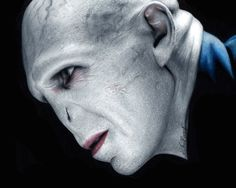 Colored pencil drawing of Lord Voldemort