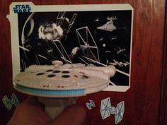 Millennium Falcon UV Light Laser Star Wars Gifts, Millennium Falcon, Gift Guide, Science, Stars, Random, Science Comics