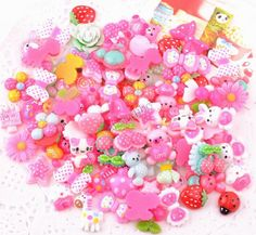 Random Styles Flat Back Resin Cabochons Resin Jewelry / Mobile phone DIY Accessory-in Figurines & Miniatures from Home & Garden on Aliexpress.com | Alibaba Group