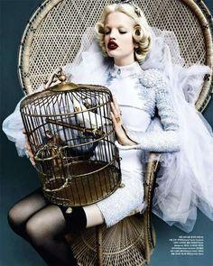 65 Luxuriantly Ornate Fashions - From Exuberantly Embellished Editorials to Lavish Art-Deco Captures (TOPLIST)