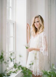 Early Morning Bridal Boudoir Inspiration…