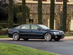 Audi A8 L W12 quattro US-spec (D3) '2008–10