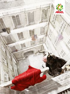 Ariel An ad by Saatchi & Saatchi Moscow for Ariel fabric detergent. Read more: https://www.luerzersarchive.com/en/print-ad-of-the-week/2015-15.html Tags: Stuart Robinson,Ariel,Yuri Polonski,Saatchi & Saatchi, Moscow,Carioca, Bucharest