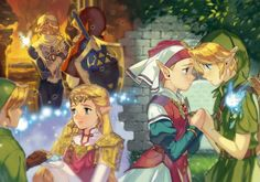 Beautiful..Ocarina of Time will always have a special place in my heart❤