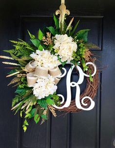 door studioblog front wreaths magnolia mcgee decor wreath studio