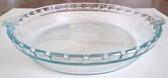 Pyrex 9.5 Clear Glass Pie Plate with Handles  number229 >>> Instant Savings available here : Baking pans