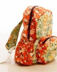Nice backpack.  Pattern from Pellon, so it uses a lot of their products.