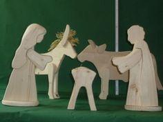 Krippenfiguren aus Holz, Set 2: Ochs und Esel, Kinderkrippe in Nordrhein-Westfalen - Höxter | Basteln, Handarbeiten und Kunsthandwerk | eBay Kleinanzeigen
