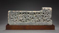 Bacchanalian Relief, 3rd century India, Gandhara period, 3rd century