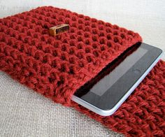 knitted ipad case