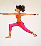 Yoga Health and Wellness | Poses - warrior two, mindfulness