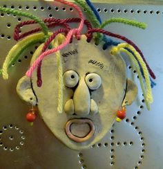 """This would be fun in polymer clay for art camp. (""""Dazed and Confused"""" by jburns711, via Flickr)"""