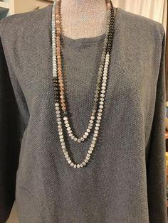 Necklace Ideas, Diy Necklace, Gemstone Necklace, Jewelry Ideas, Layering Necklaces, Long Necklaces, Beaded Jewelry, Handmade Jewelry, Beaded Bracelets