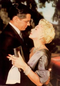 "John Gavin and Lana Turner in ""Imitation of Life""This one was heart-breaking, but for those old enough to remember the original can testify to being horrified at the end."