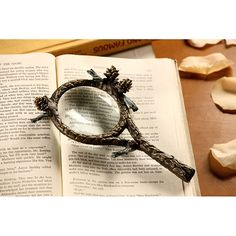 Pine Cone Magnifier made by Rustic Lodge