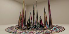 Ornate Carpets Recreated as Modern Sculptures - My Modern Metropolis