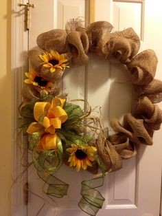 Fall Decor, New Wreath!