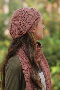 castilleja scarf by maria olson / i quince & co. tern