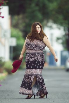 La Fatshionista by Priss Arias, Plus Size Fashion Blogger, Moda Curvy, Ropa para Gorditas, Plus Size Outfit, Gordibuena, BBW, Plus Size Maxi Dress, Boho chic, Outfit: Michelle