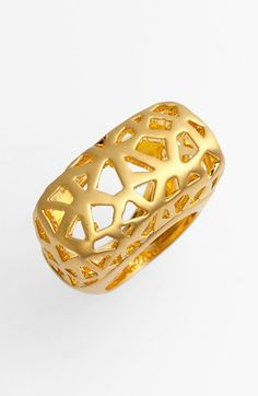 Gold Statement Ring by Vince Camuto. Buy for $38 from Nordstrom