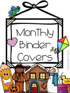 Do you have your binders organized by month? Use these fun and colorful covers to label each binder. Each cover contains an easy to read month label and a fun, brightly colored graphic for the month. Included: Back to School August & September (combined) October
