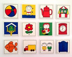 Vintage MIFFY Memory Playing Cards/ Set of 12/ No 2 by Uber2Cute, $4.50 Miffy, Happy Design, Memory Games, Vintage Illustrations, Altered Art, Room Inspiration, Childhood Memories, Baby Room, Mothers