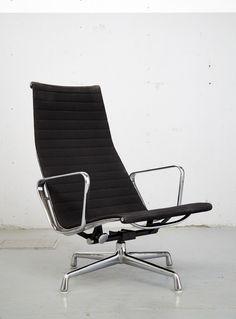 Charles & Ray Eames I Sessel EA 124 I Hopsack I Herman Miller I Vitra