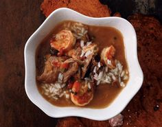 Duck and Shrimp Gumbo, possibly replace duck with fish or chicken