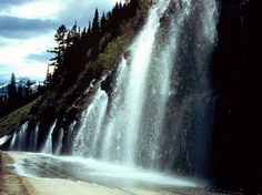 Weeping Wall, Glacier National