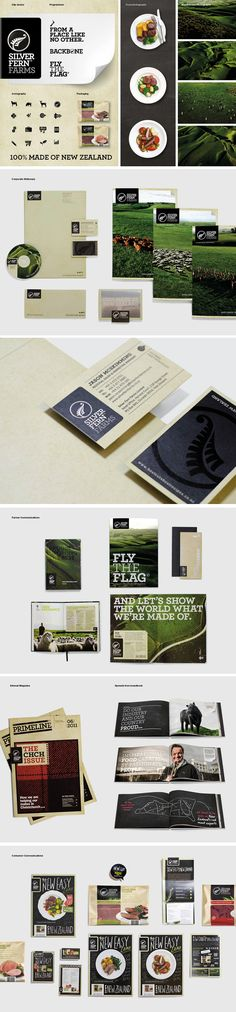 identity / silver fern farms | #stationary #corporate #design #corporatedesign #identity #branding #marketing < repinned by www.BlickeDeeler.de | Visit our website: www.blickedeeler.de/leistungen/corporate-design