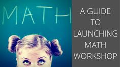 A blog series with tips for launching math workshop in a digital classroom.
